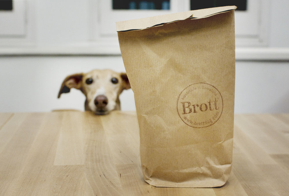 Brott Modern Dog también cuida el packaging de sus collares / Foto: Corina de Castro para Perricatessen