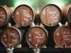Tinas con vino y vermut casero en Els Sortidors del Parlament