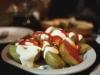 Patatas a la antigua, otro platillo de Els Sortidors del Parlament