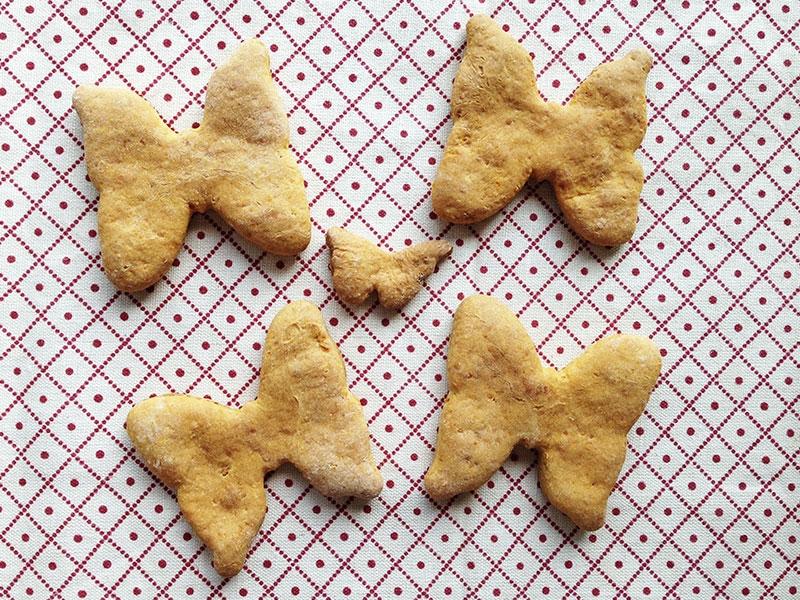 Voilà, ¡las galletas listas para comer!