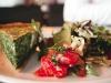Quiche de espinacas con queso de cabra/ Foto: Corina de Castro para Perricatessen