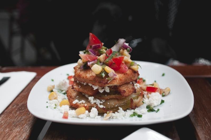 Tomates verdes fritos, lo mejor de lo mejor de Picnic / Foto: Corina de Castro para Perricatessen