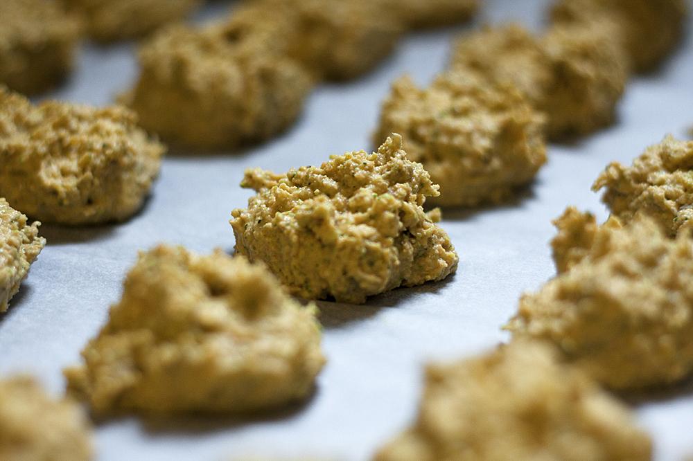Bocaditos de Vegetales antes de meterlos al horno / Foto: Corina de Castro para Perricatessen