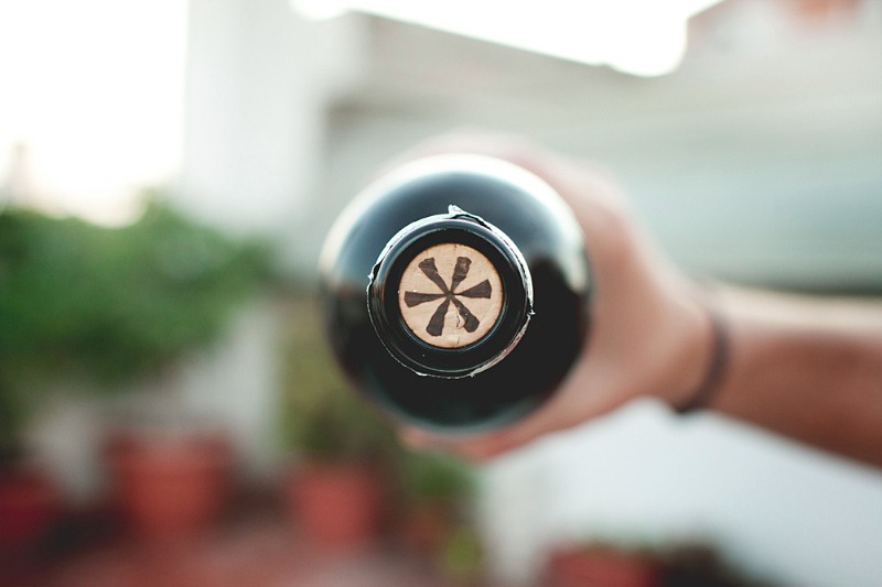 Corcho de la botella de vino Punt i apart 2011 / Perricatessen
