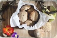 Receta: Galletas de manzana y crema de cacahuete con avena