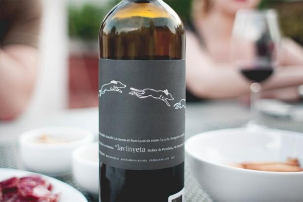 Etiqueta de vino Punt i apart 2011