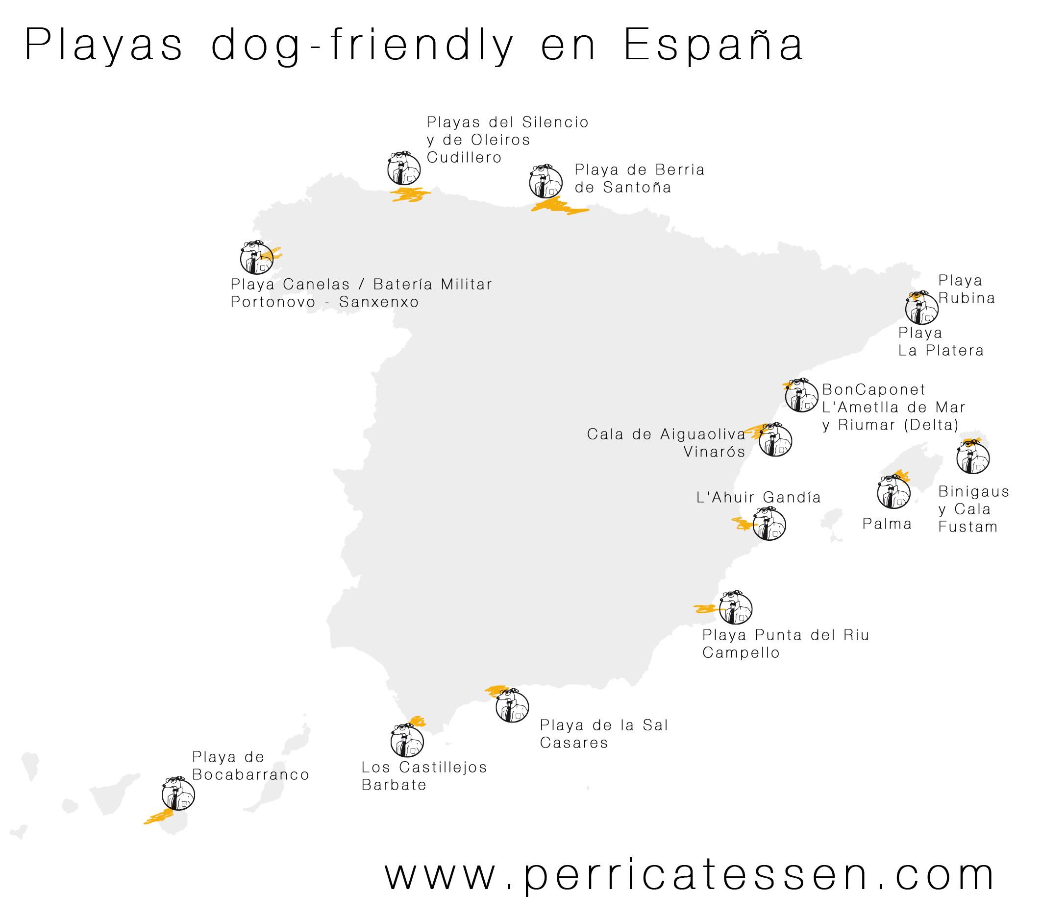 Playas dog-friendly en España