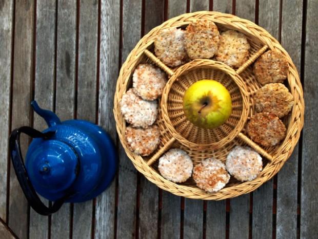 Bocados de manzana y avena_Perricatessen