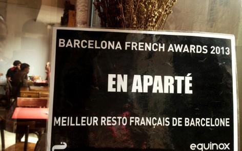 En Aparté, un bar 100% francés en Barcelona dog-friendly