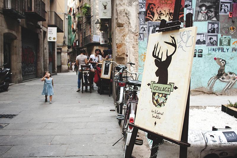Bar Collage, un lugar dog-friendly en el born / Foto: Corina de Castro