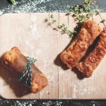 Receta de huesitos con pollo y queso